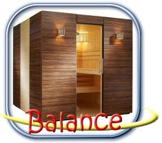 Balance finn szauna