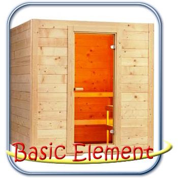 Basic Element finn szauna