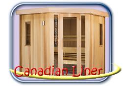 Canadian Liner finn szauna
