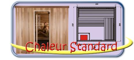 Chaleur Standard finn szauna