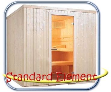 Standard Element finn szauna