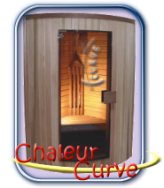 Chaleur Curve infra szauna