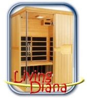 Living Diana infra szauna
