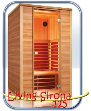 Living Sirona 125 infra szauna