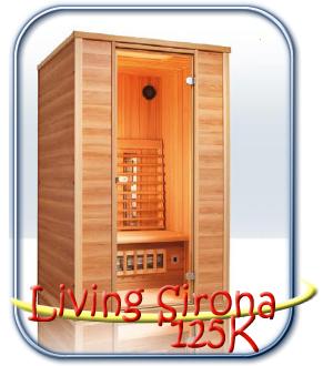Living Sirona 125K infra szauna